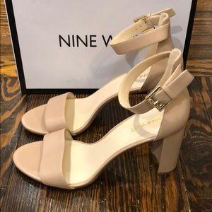 Brand new block heel sandal